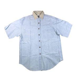 Barbara Blue clothing button up shirt